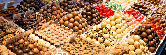 belgijskie czekoladki trufle