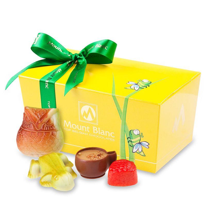 Ballotin Yellow no.3 Praliny czekoladowe dla dziecka