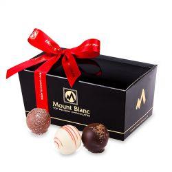 Ballotin Black no.2 Pearls Czekoladowy prezent