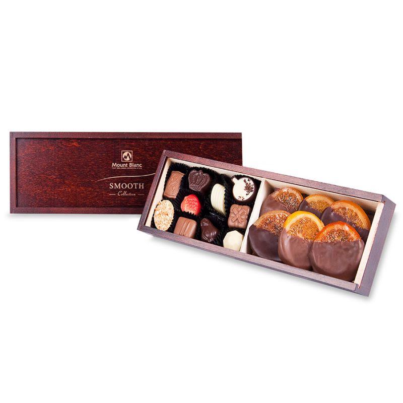 Smooth Duo Pralines&Luna. Eleganckie czekoladki na prezent