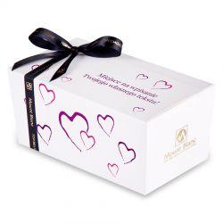 Ballotin Purple no.2 dla zakochanych z własnymi życzeniami
