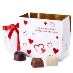 Ballotin Red no.1 dla zakochanych z własnymi życzeniami