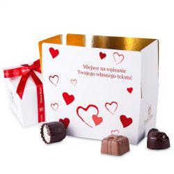 Ballotin Red no.2 dla zakochanych z własnymi życzeniami