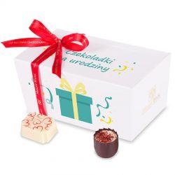 Ballotin White no.2 słodki prezent na urodziny