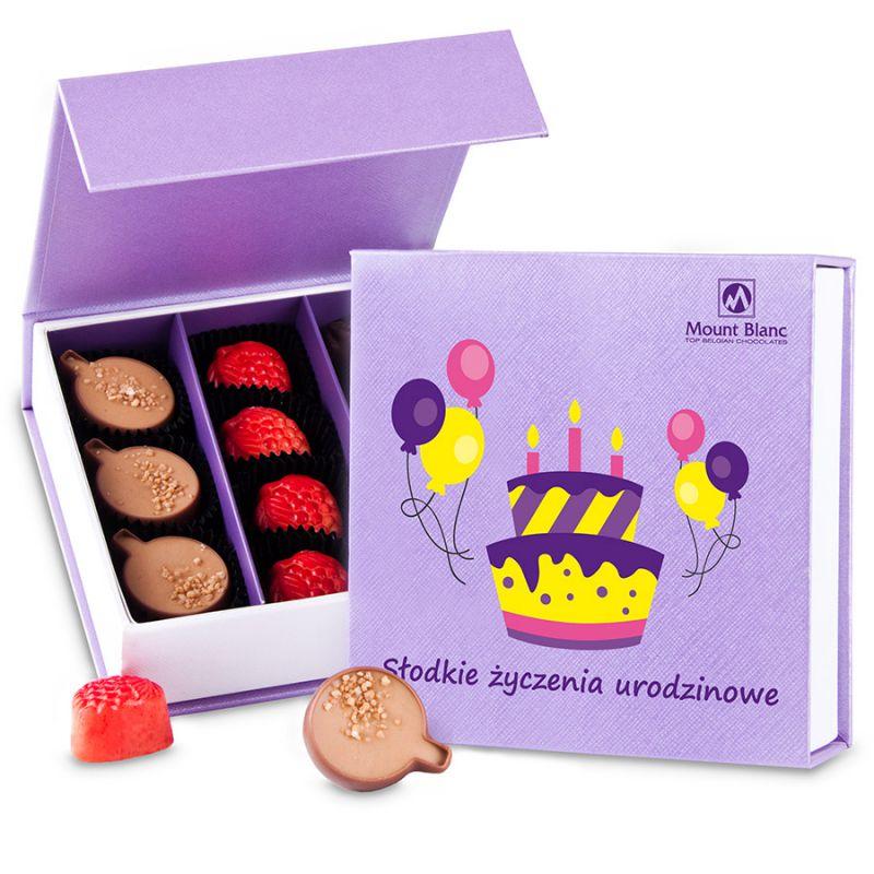 Czekoladki urodzinowe Finesse Lavender no.2