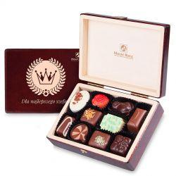 Prezent dla szefa Decor, czekoladki firmowe