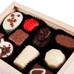 Pralinki czekoladowe Smooth Light z własnymi życzeniami