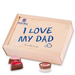 Czekoladki dla Taty Smooth Light I love my dad