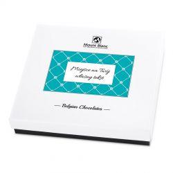 Bombonierka Premium White z własnymi życzeniami dla Babci i Dziadka