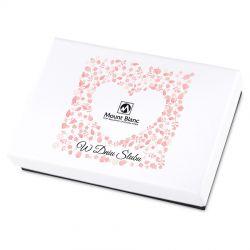 Prezent dla Nowożeńców Premium Mini White