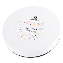 Prezent dla Młodej Pary Vintage White no.1 z Twoimi życzeniami