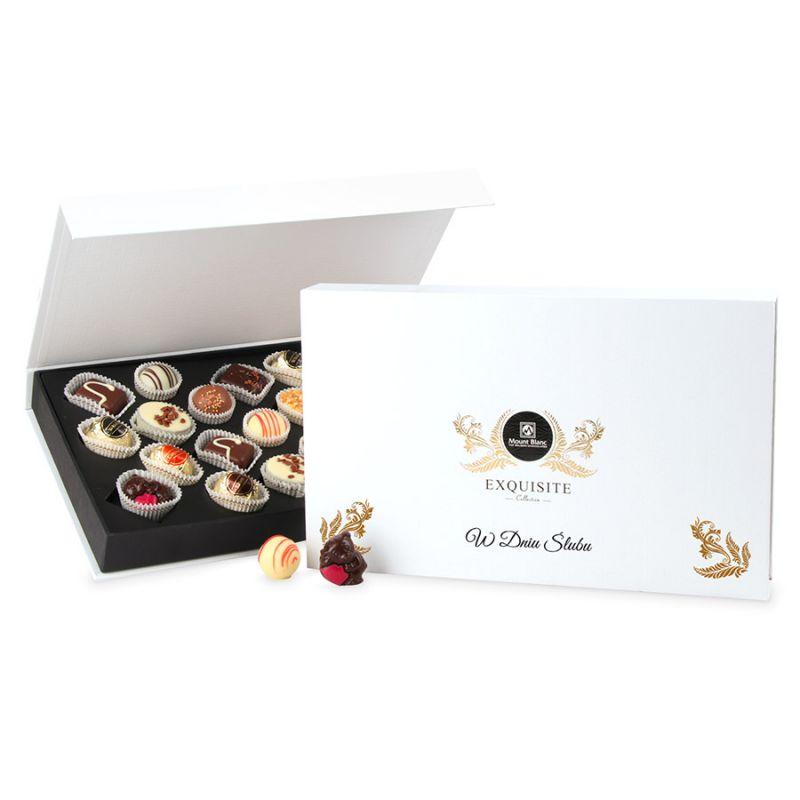 Bombonierka Exquisite Box, prezent dla Młodej Pary