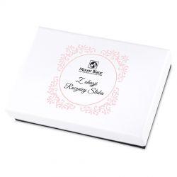 Prezent na rocznicę ślubu Premium White Mini