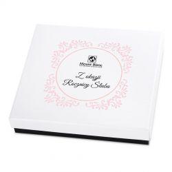 Czekoladki na rocznicę ślubu Premium White