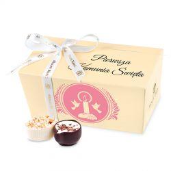Czekoladki Ballotin Cream no.1 z okazji Pierwszej Komunii Świętej