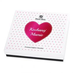 Czekoladowy prezent Premium White Kochanej Mamie