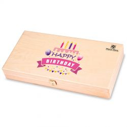 Prezent urodzinowy Decor Trio Light Happy Birthday