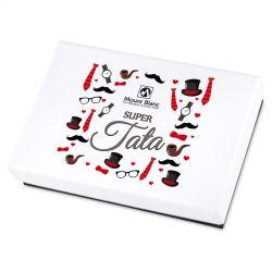 Premium White Mini Super Tata, czekoladki dla taty