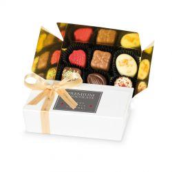 Belgijskie czekoladki Mini Ballotin White no.3