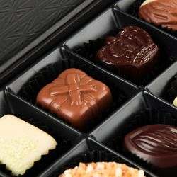 Czekoladki z imieniem chłopaka Chocolate Box Black Mini