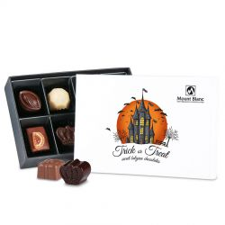 Zestaw słodkości na Halloween Premium White Mini