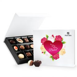 Prezent na Dzień Babci Chocolate Box White Medium