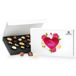 Czekoladki z okazji Dnia Babci Chocolate Box White