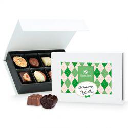 Praliny dla Dziadka Chocolate Box White Mini