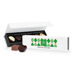 Bombonierka na Dzień Dziadka Chocolate Box Long Mini z Twoimi życzeniami