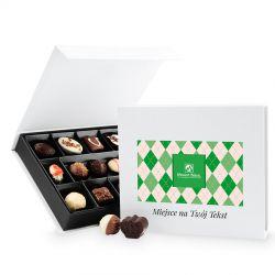 Prezent na Dzień Dziadka Chocolate Box White Medium z Twoimi życzeniami