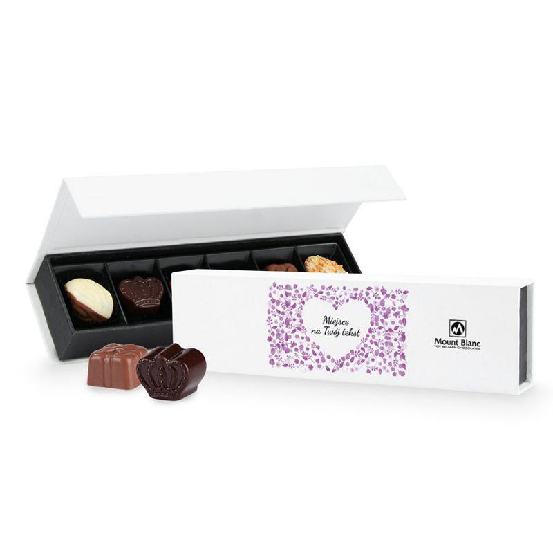 Bombonierka na Dzień Babci i Dziadka Chocolate Box Long Mini z Twoimi życzeniami
