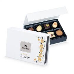 Prezent na Wielkanoc Easter Chocolate Box White Mini