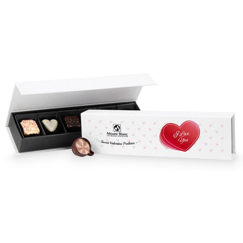 Czekoladki na Walentynki Chocolate Box Long Mini