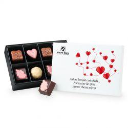 """Czekoladki Premium Mini """"Miłość jest jak czekolada..."""""""