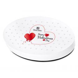 Bombonierka Vintage White no.2 Happy Valentines Day