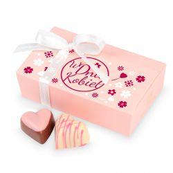 Prezent z okazji Dnia Kobiet Mini Ballotin Pink no.3