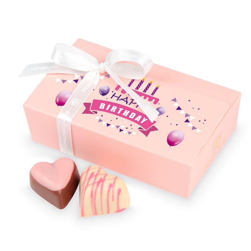 Prezent urodzinowy dla dziewczyny Mini Ballotin Pink no.3