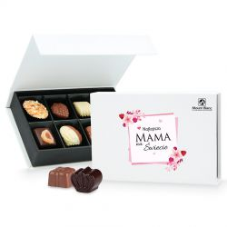 Prezent na Dzień Matki Chocolate Box White Mini