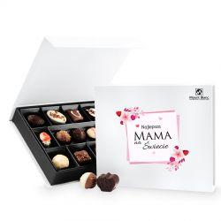 Czekoladki Chocolate Box White Medium z okazji Dnia Matki