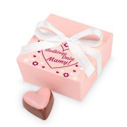 Czekoladki na Dzień Matki Mini Ballotin Pink no.2