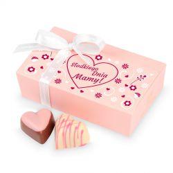 Czekoladki Mini Ballotin Pink no.3 Słodkiego Dnia Mamy