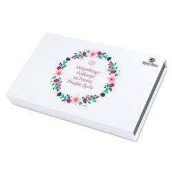 Bombonierka na ślub Chocolate Box White Wszystkiego Słodkiego