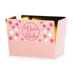 Czekoladki Mini Ballotin Pink no.3 W Dniu Ślubu