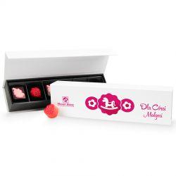 Prezent dla dziewczynki na Dzień Dziecka Box Long z imieniem dziecka