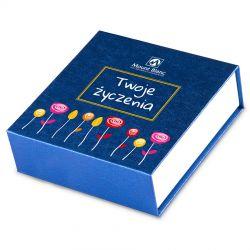 Czekoladki imieninowe z Twoimi życzeniami Finesse Blue no.2