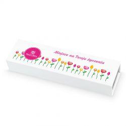 Czekoladki urodzinowe Chocolate Box Long z Twoimi życzeniami