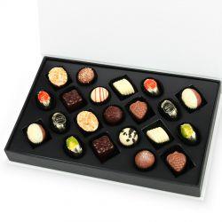 Czekoladki Chocolate Box White z Twoim zdjęciem i życzeniami dla taty
