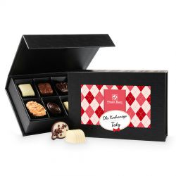 Prezent dla taty Chocolate Box Black Mini