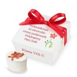Czekoladki Mini Ballotin White no.2 z Twoimi życzeniami dla nauczycielki