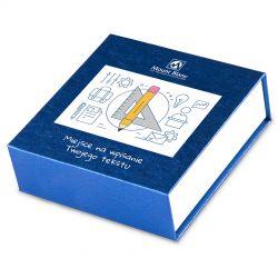 Czekoladki Finesse Blue no.2 z życzeniami od uczniów